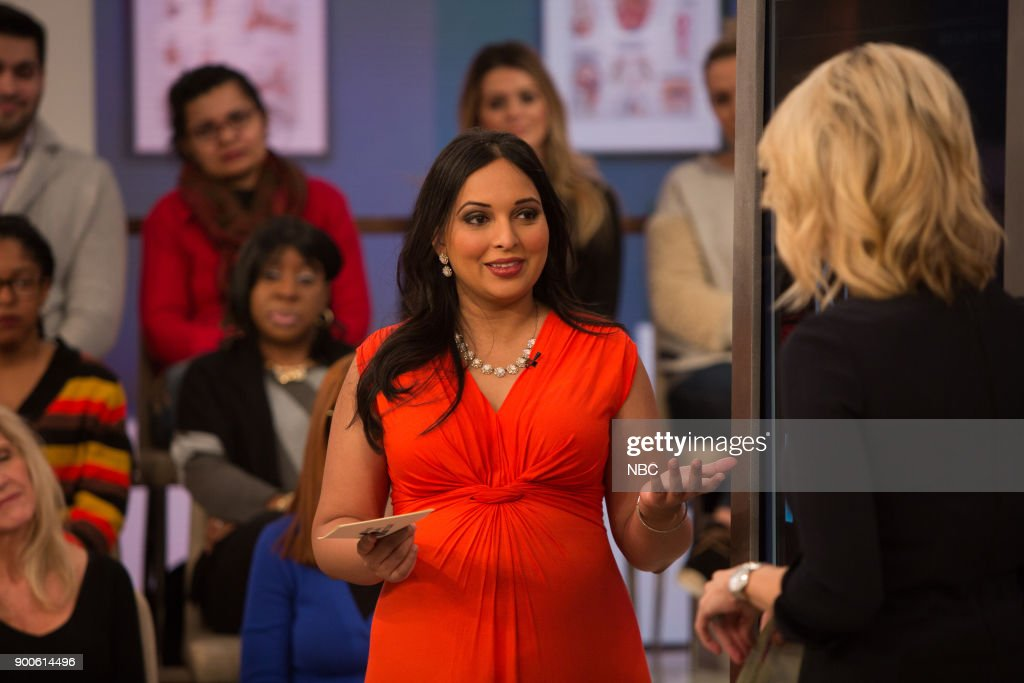 Dr. Devi Nampiaparampil and Megyn Kelly on Tuesday, December 2, 2018 --