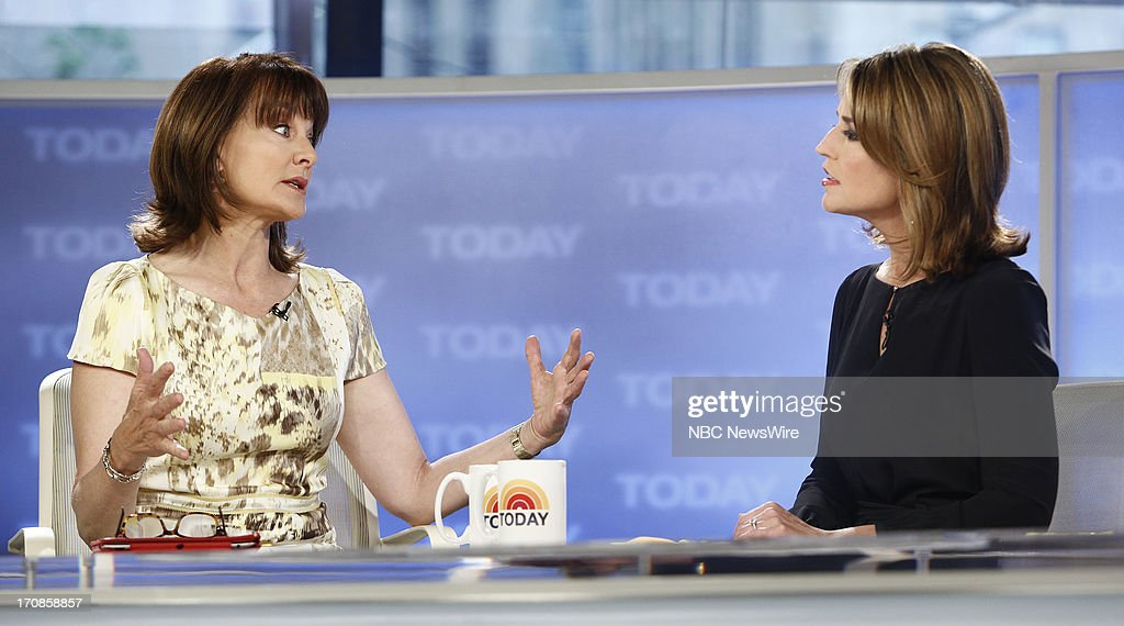 Dr. Nancy Snyderman and Savannah Guthrie appear on NBC News' 'Today' show --
