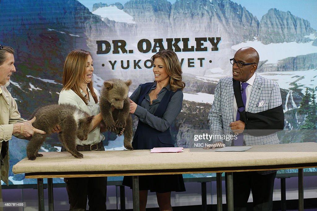 Dr. Oakley, Natalie Morales, Al Roker appear on NBC News' 'Today' show --