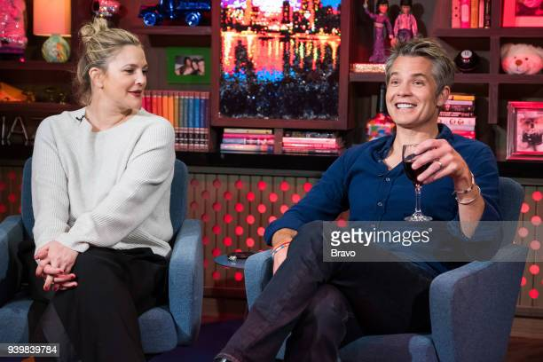 Drew Barrymore and Timothy Olyphant