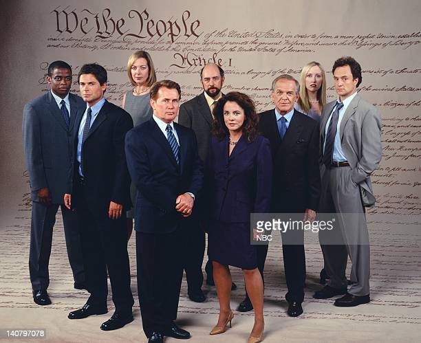 Dule Hill as Charlie Young Rob Lowe as Sam Seaborn Allison Janney as Claudia Jean 'CJ' Cregg Martin Sheen as President Josiah 'Jed' Bartlet Richard...