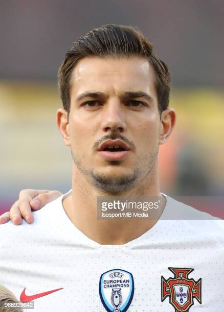 CEDRIC pictured during a friendly game between Belgium and Portugal as part of preparations for the 2018 FIFA World Cup in Russia on June 2 2018 in...