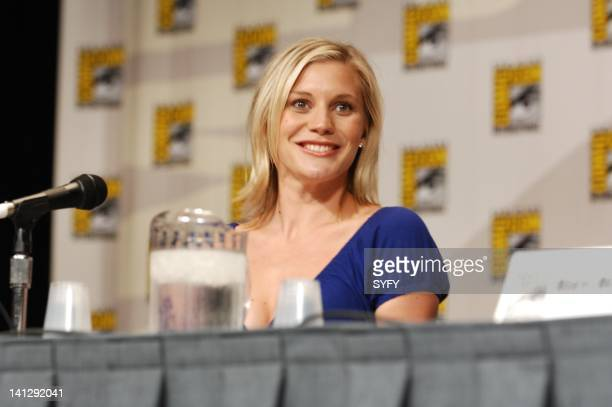 Pictured: during the Battlestar Galactica panel at the 2007 Comic-Con Convention in San Diego, Ca -- Photo by: Ken Jacques/SCI FI Channel/NBCUPB