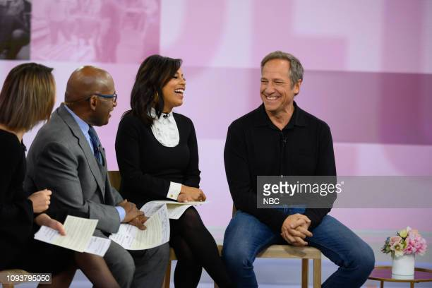Dylan Dreyer Al Roker Sheinelle Jones and Mike Rowe on Monday February 4 2019