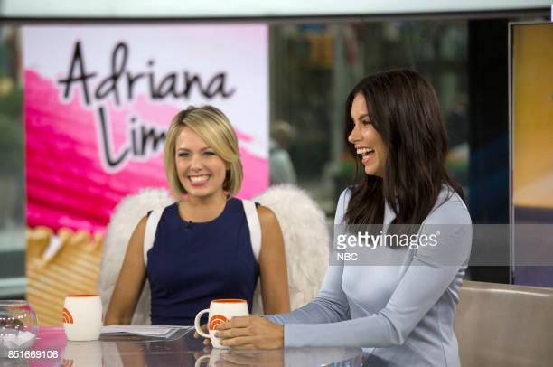Dylan Dreyer and Adriana Lima on Wednesday Sept 20 2017