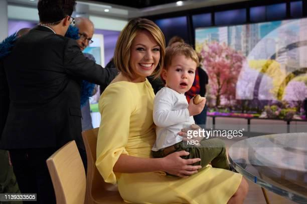 Dylan Dreyer and son Calvin on Thursday April 25 2019