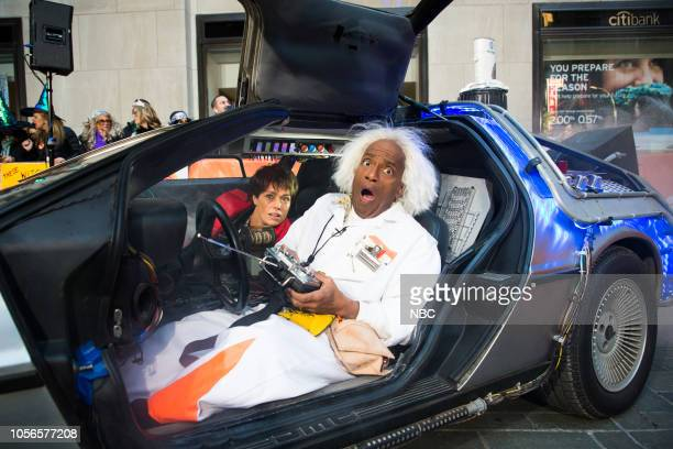 Dylan Dreyer as Marty McFly and Al Roker as Doc Brown on Wednesday October 31 2018