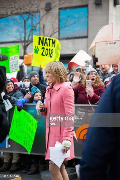 Dylan Dreyer on Friday March 23 2018