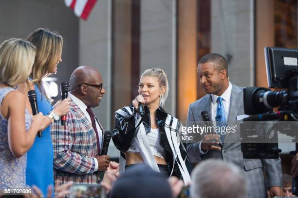 Dylan Dreyer Savannah Guthrie Al Roker Fergie and Craig Melvin on Friday September 22 2017