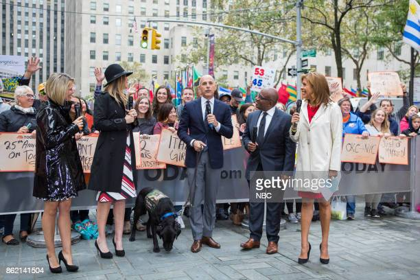 Dylan Dreyer Savannah Guthrie Matt Lauer Al Roker and Hoda Kotb on Thursday October 12 2017