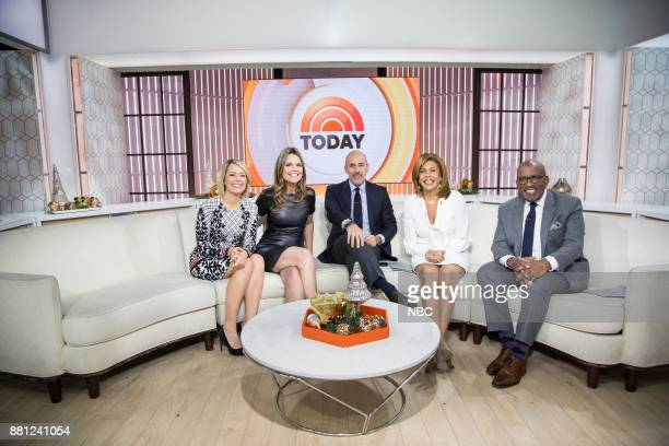 Dylan Dreyer Savannah Guthrie Matt Lauer Hoda Kotb and Al Roker on Tuesday Nov 28 2017