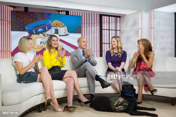 Dylan Dreyer Savannah Guthrie Matt Lauer Olivia Poff Charlie and Hoda Kotb on Monday September 25 2017