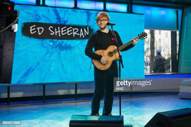 Ed Sheeran on Friday December 8 2017