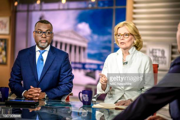 Eddie Glaude Jr Chair Center for AfricanAmerican Studies Princeton University and Peggy Noonan Columnist The Wall Street Journal appear on 'Meet the...