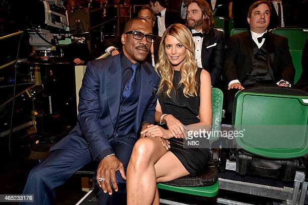 Eddie Murphy and Paige Butcher on February 15 2015