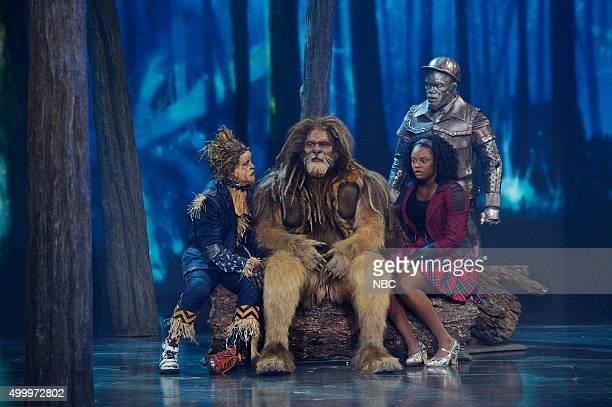 Elijah Kelley as Scarecrow David Alan Grier as Lion Shanice Williams as Dorothy NeYo as TinMan
