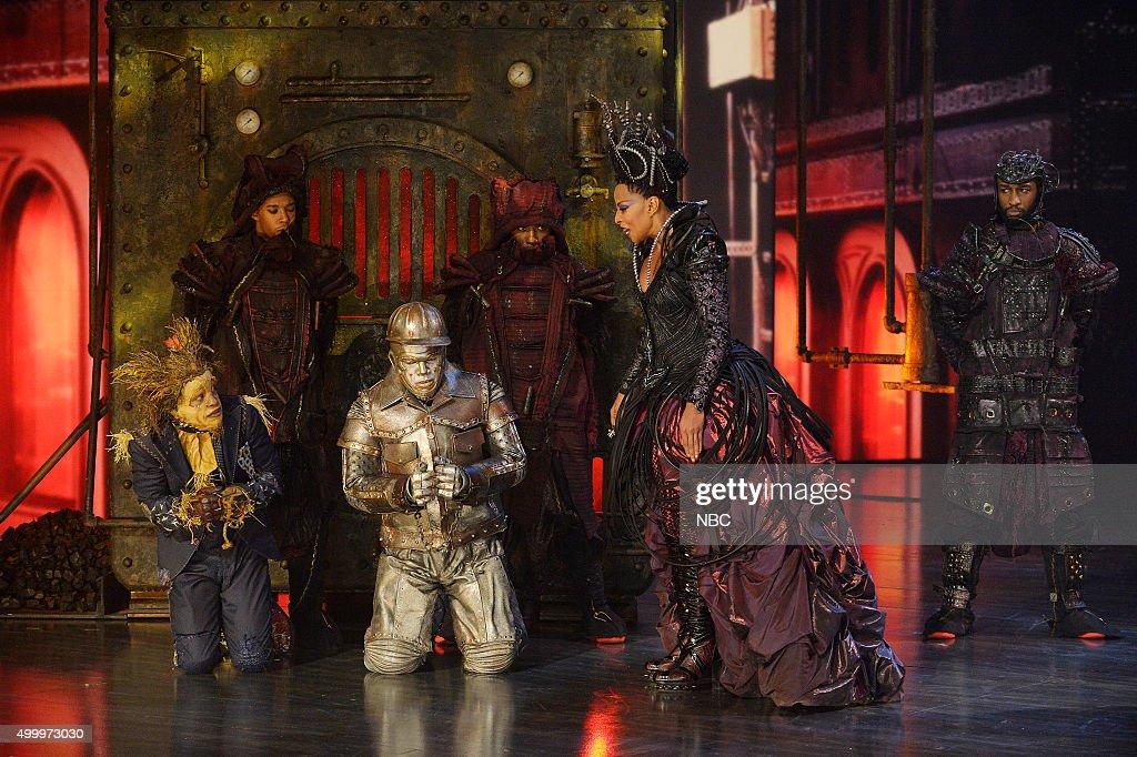 Elijah Kelley as Scarecrow, Ne-Yo as Tin-Man, Mary J  Blige