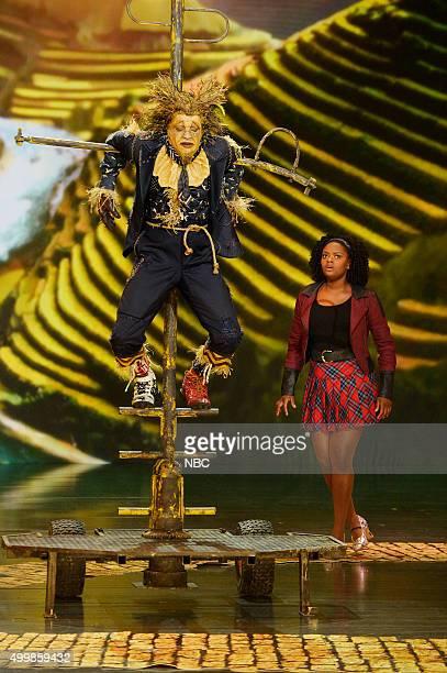 Elijah Kelley as Scarecrow Shanice Williams as Dorothy
