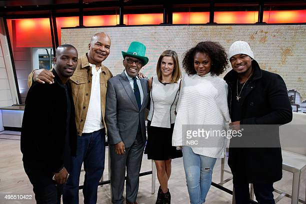 Elijah Kelley David Alan Grier Al Roker Natalie Morales Shanice Williams and NeYo appear on the 'Today' show on Tuesday November 3 2015