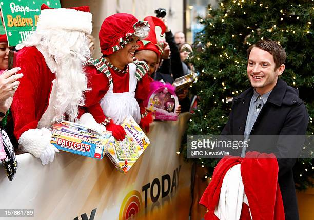 Elijah Wood appears on NBC News' Today show