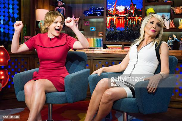 Elisabeth Moss and Shannon Beador