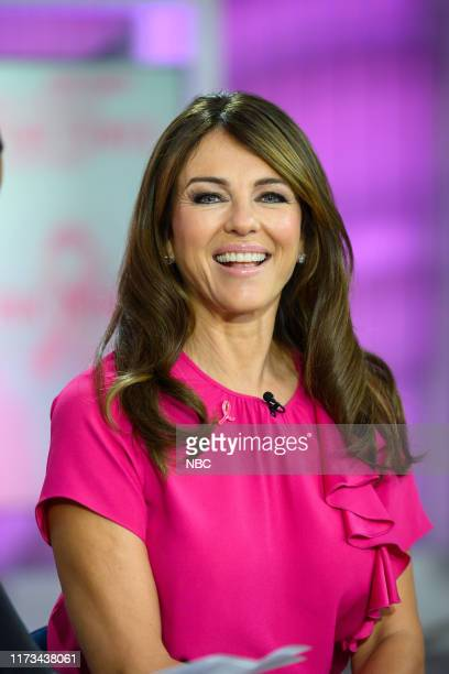 Elizabeth Hurley on Tuesday, October 1, 2019 --