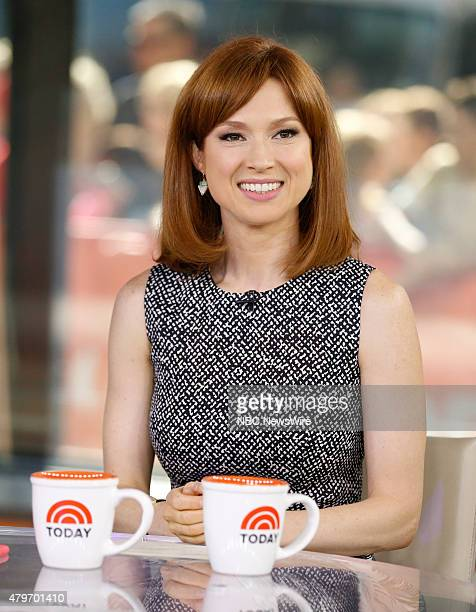 "Ellie Kemper appears on NBC News' ""Today"" show --"