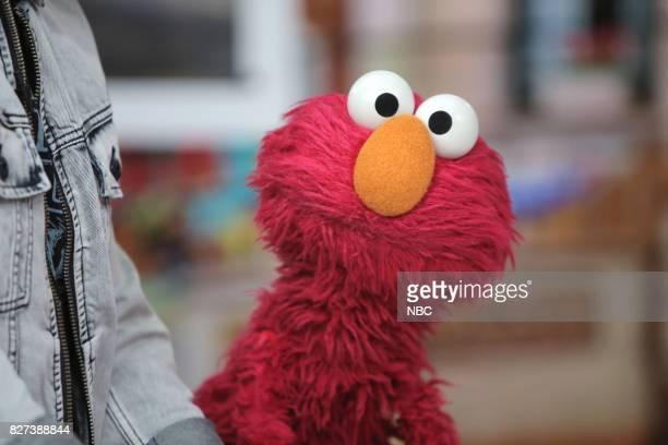 Elmo from Sesame Street on Friday Aug 4 2017