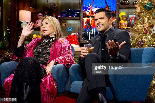 Elsa Patton and Mark Consuelos Photo by Charles Sykes/Bravo/NBCU Photo Bank via Getty Images