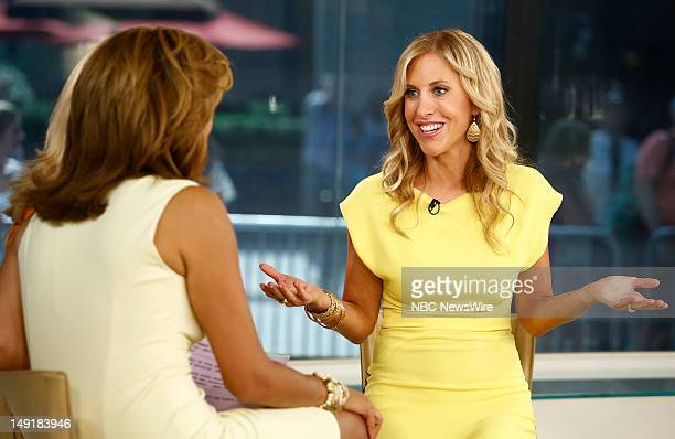 Emily Giffin appears on NBC News' Today show