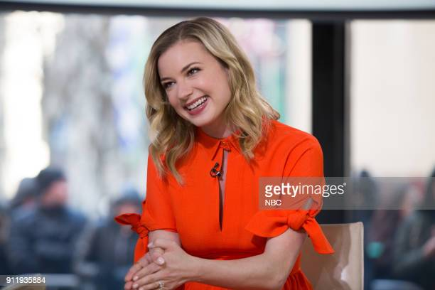 Emily VanCamp on Thursday Jan 25 2018