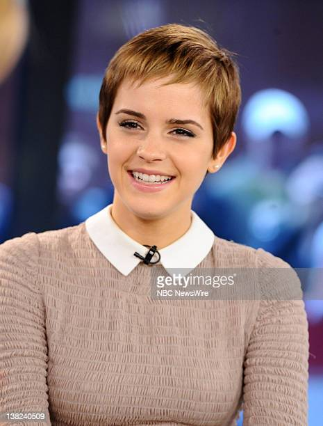 Emma Watson appears on NBC News' Today show