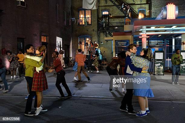 Ephraim Sykes as Seaweed J Stubbs Ariana Grande as Penny Pingleton Garrett Clayton as Link Larkin Maddie Baillio as Tracy Turnblad
