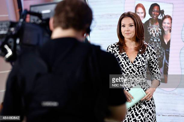 """Erica Hill appears on NBC News' """"Today"""" show --"""
