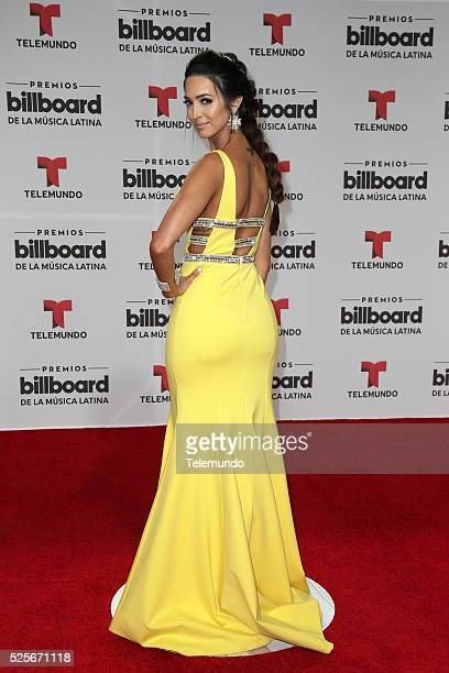 Erika Csiszer arrives at the 2016 Billboard Latin Music Awards at the BankUnited Center in Miami Florida on April 28 2016