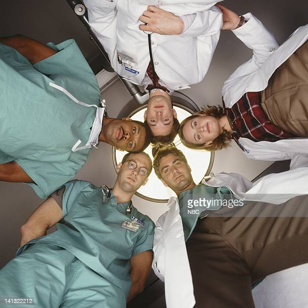Eriq La Salle as Doctor Peter Benton Noah Wyle as Doctor John Carter Sherry Stringfield as Doctor Susan Lewis George Clooney as Doctor Doug Ross...