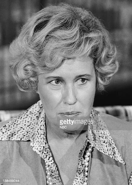 Pictured: Erma Bombeck during an interview --