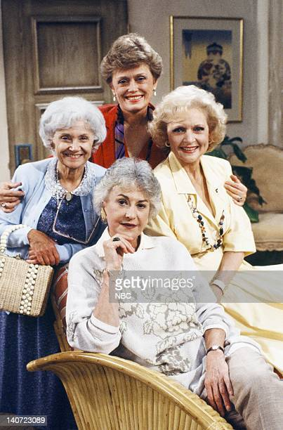 Estelle Getty as Sophia Petrillo Rue McClanahan as Blanche Devereaux Betty White as Rose Nylund Bea Arthur as Dorothy Petrillo Zbornak Photo by NBCU...