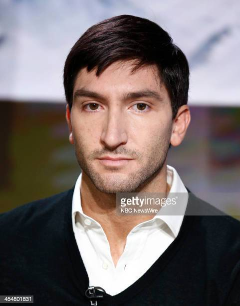 Evan Lysacek appears on NBC News' Today show