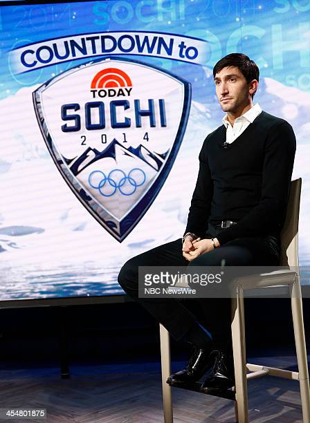 """Evan Lysacek appears on NBC News' """"Today"""" show --"""