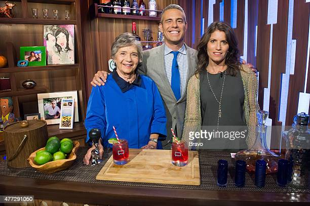 Evelyn Cohen Andy Cohen and Emily Rosenfeld