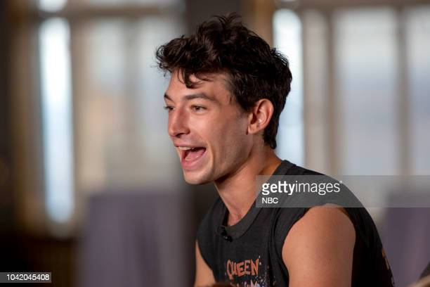 Ezra Miller on Monday September 24 2018