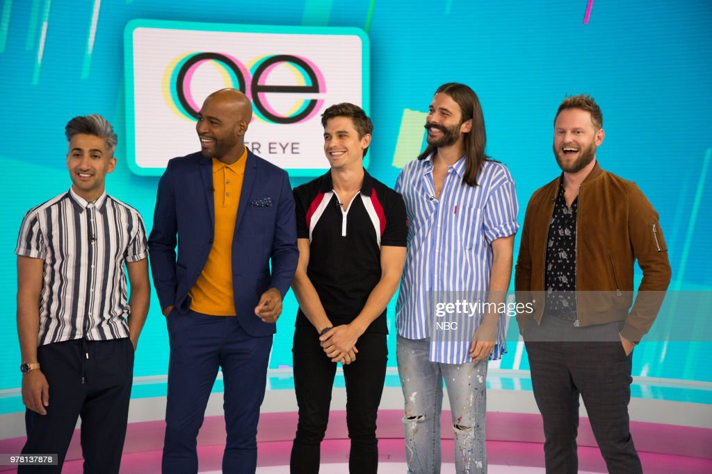 "NBC's ""TODAY"" With guests Jenna Bush Hager, Guys Tell All, Queer Eye"