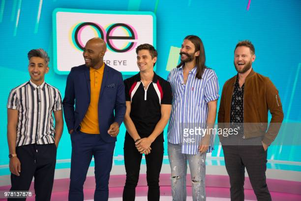 Fab 5 from Queer Eye on Monday June 18 2018