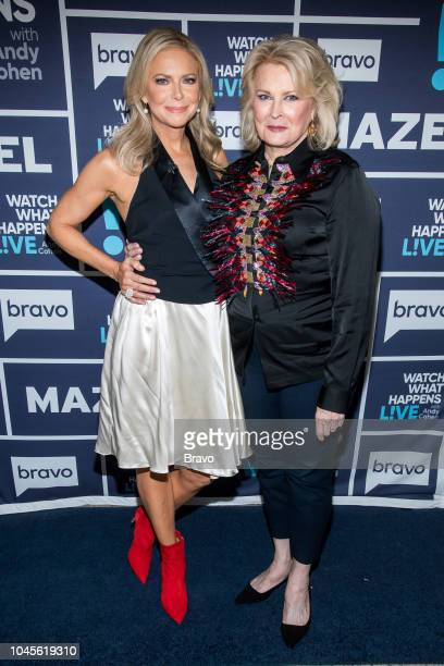 Pictured : Faith Ford and Candice Bergen --