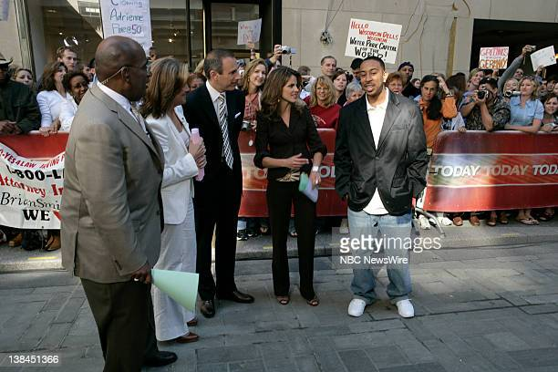 Feature and Weather Reporter Al Roker CoAnchors Meredith Vieira and Matt Lauer and National Correspondent Natalie Morales speak with singer/actor...