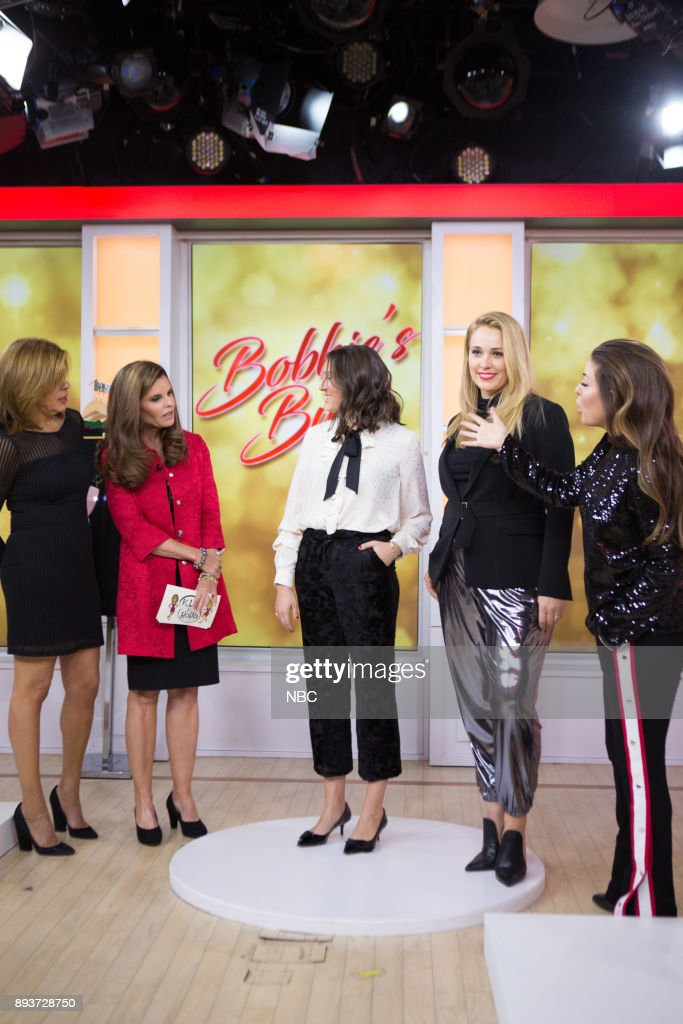 """NBC's """"Today"""" with guests Jessica Chastain, Maria Shriver, Holiday food and style"""