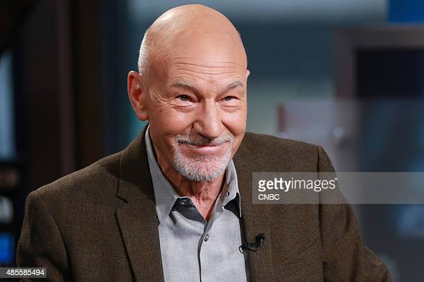 Film television and stage actor Patrick Stewart in an interview on August 21 2015