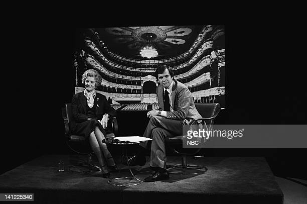 Pictured: First Lady Betty Ford, NBC News' Tom Brokaw during a promo in 1977 -- Photo by: NBCU Photo Bank