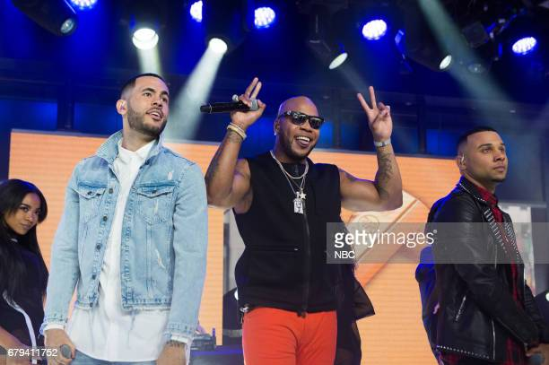Flo Rida performing live in Studio 1A on the Today Show on Friday April 14 2017